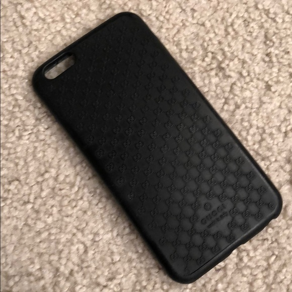 huge discount 4403a 3b381 Authenticity Gucci Rubber iPhone 6 Plus Case